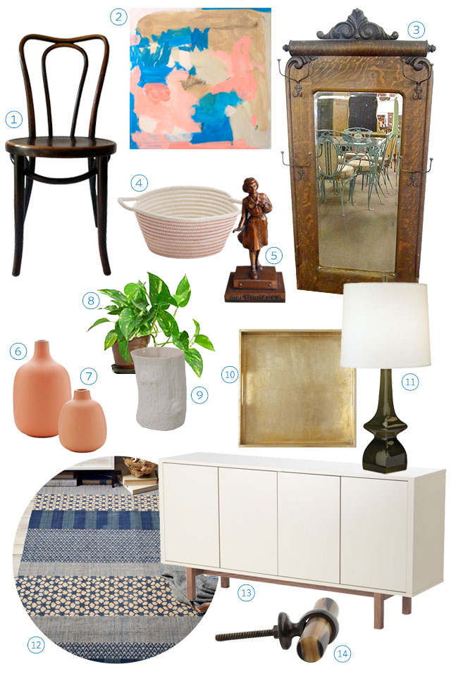 Making it Lovely's Entryway: Get the Look