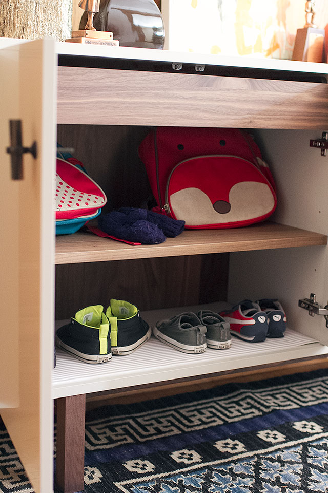 Entryway Shoe Storage Cabinet