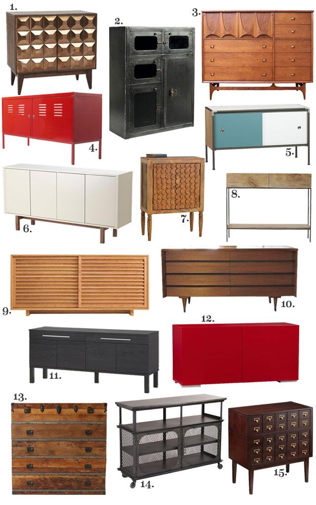 Entryway Storage: Sideboards and Credenzas