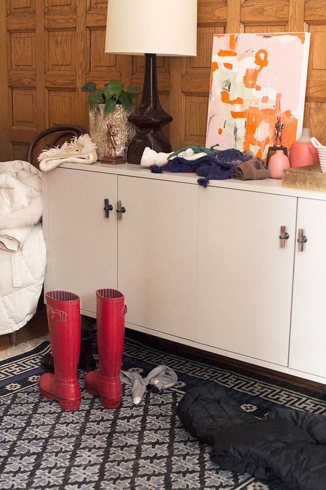 Entryway with Snow Gear