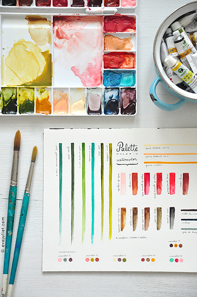 Eva Juliet's Watercolor Palette