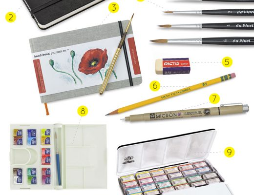 Oana Befort's Favorite Art Supplies