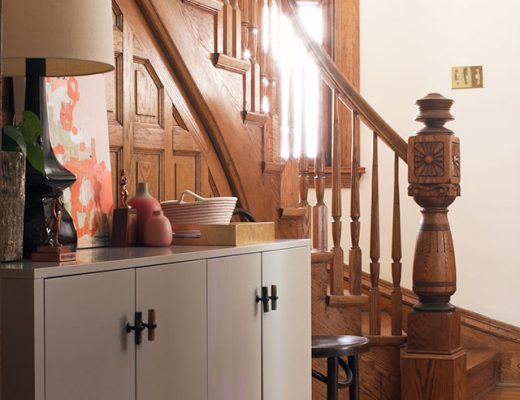 Making it Lovely's Victorian Entryway