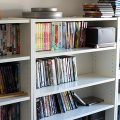 IKEA Billy bookcases to hold movies