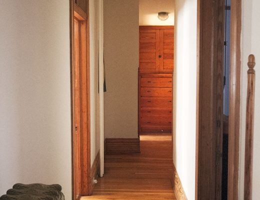 The Upstairs Hallway #makingitlovely
