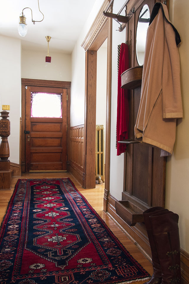 Victorian Entryway #makingitlovely