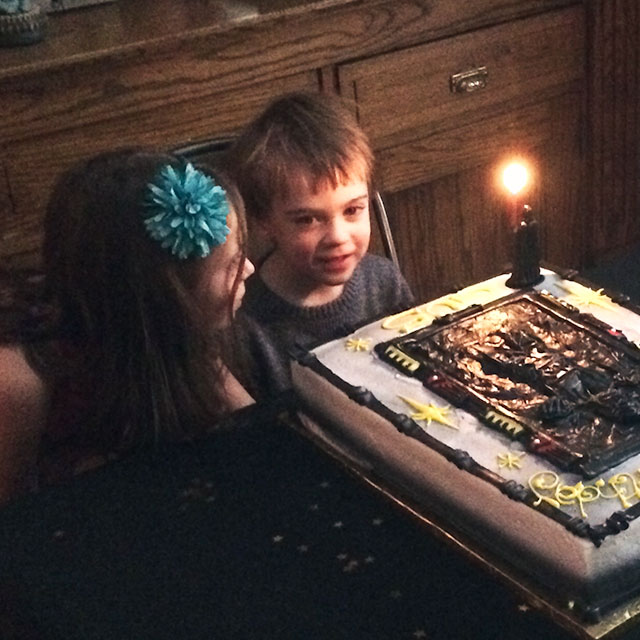 August and His Cake