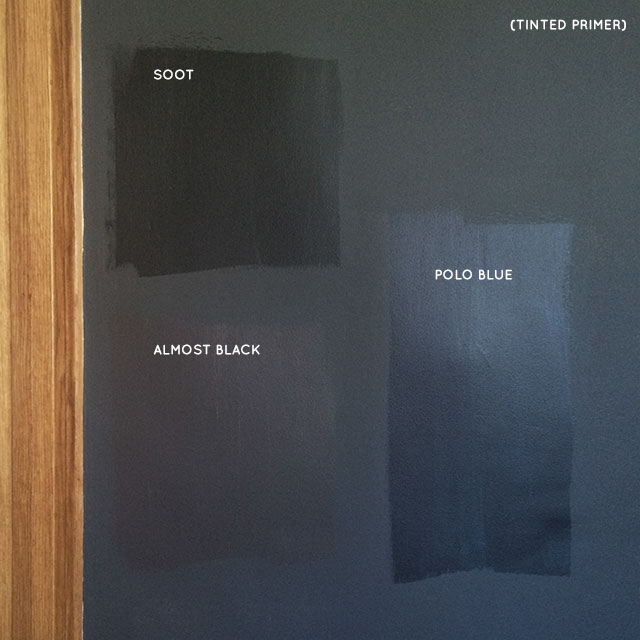 Almost black making it lovely - Benjamin moore exterior wood primer ...