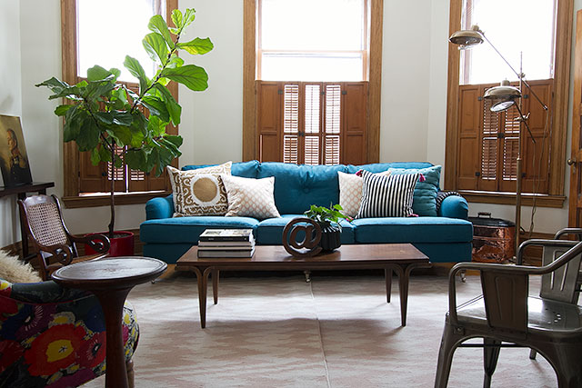 Blue Sofa, Making it Lovely