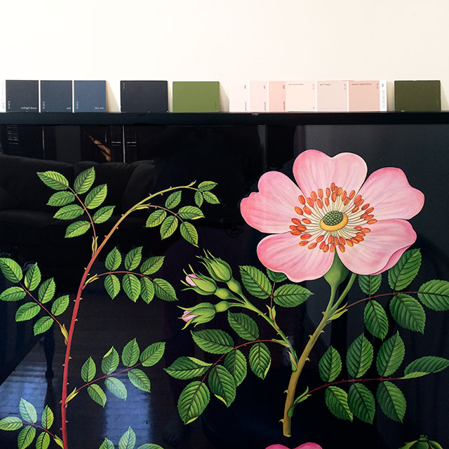 Botanical Print Color Palette #makingitlovely