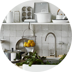 Enamelware in the Kitchen