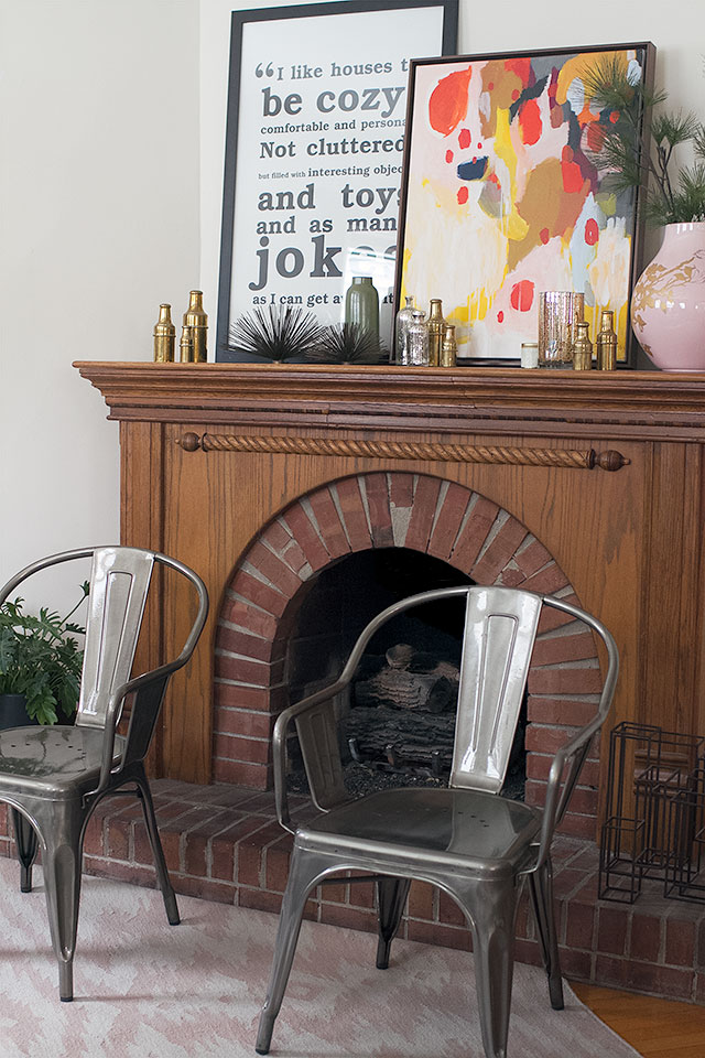 Fireplace #makingitlovely