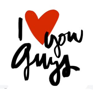 Garance Doré - I Love You Guys