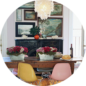 Get the Look: An Eclectic Dining Room