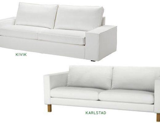 IKEA KIVIK vs KARLSTAD sofas