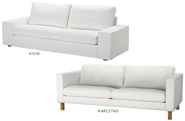 Ikea Kivik Vs Karlstad Making It Lovely