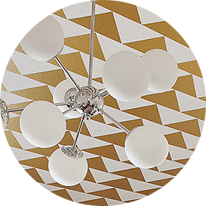 Patterned Ceilings to Look Up to