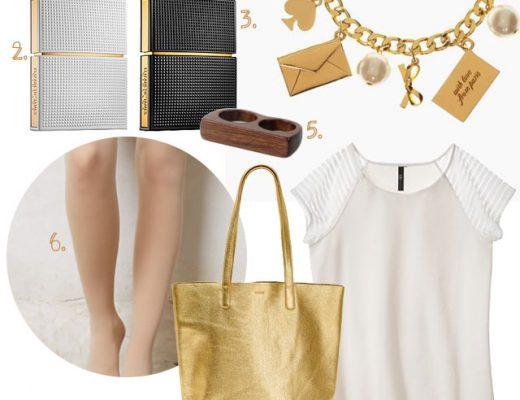 Style: White Plus Gold #makingitlovely