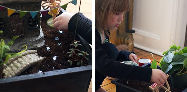 Adding Fairy Garden Decorations
