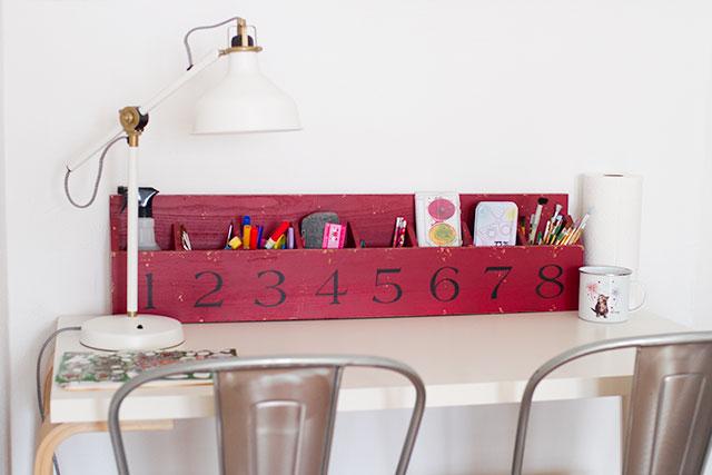 Kids' Art Desk #makingitlovely