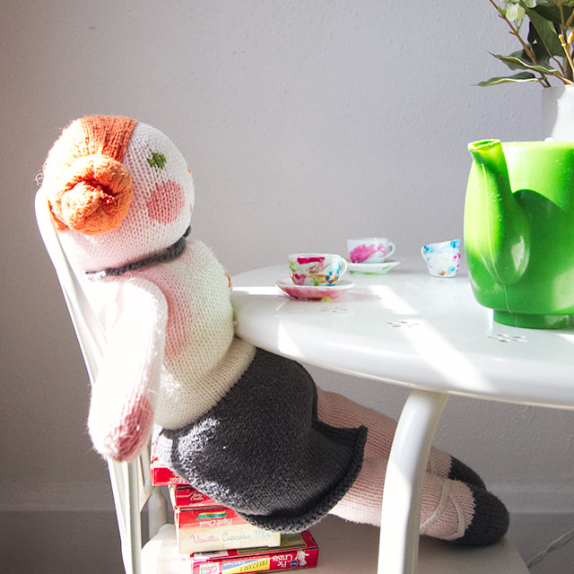 Homemade Booster Seat #makingitlovely