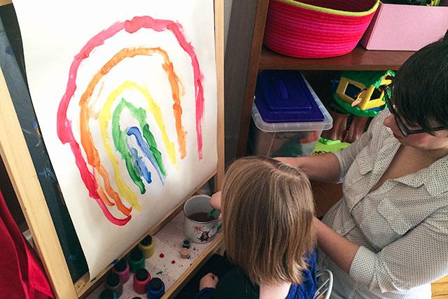 Painting a Rainbow