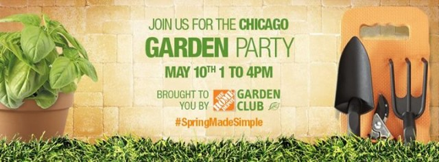 The Home Depot #SpringMadeSimple Garden Party