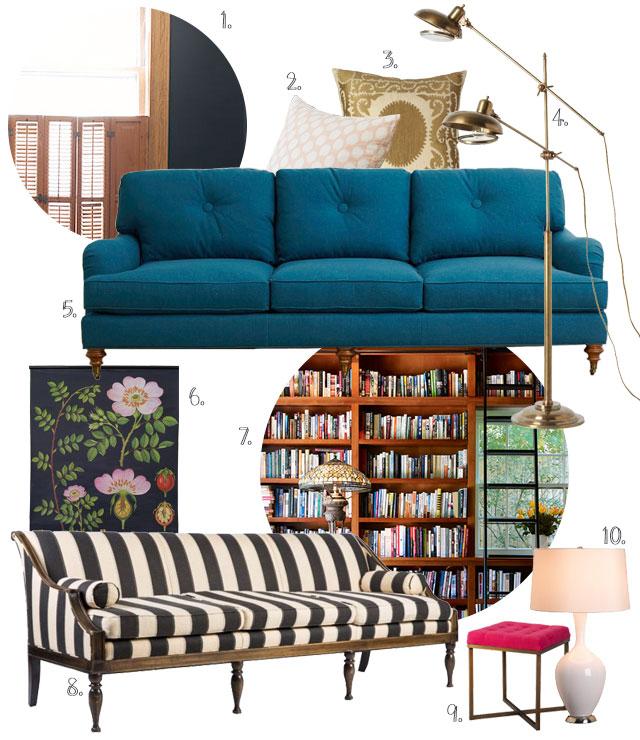 Double Parlor Furniture #makingitlovely