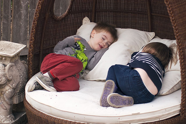 "Shhh… They're ""Sleeping"""