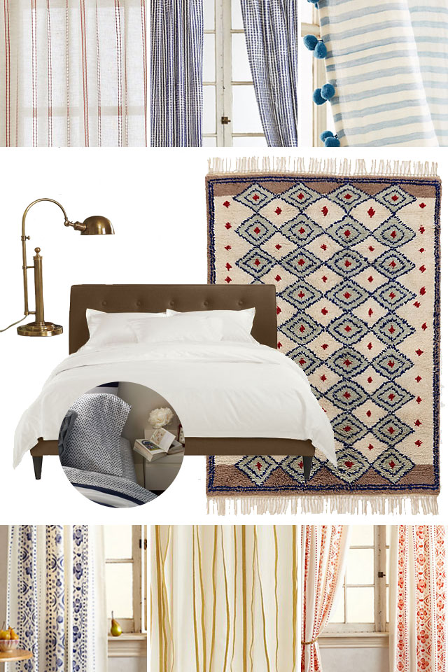 Patterned Curtain Options