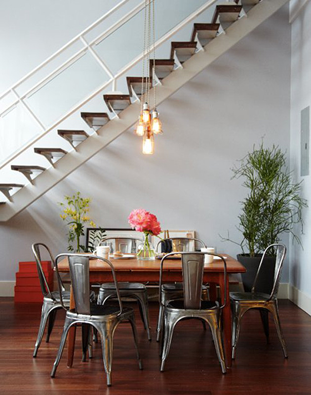 Get the Look: Industrial Meets Mid-Century Modern