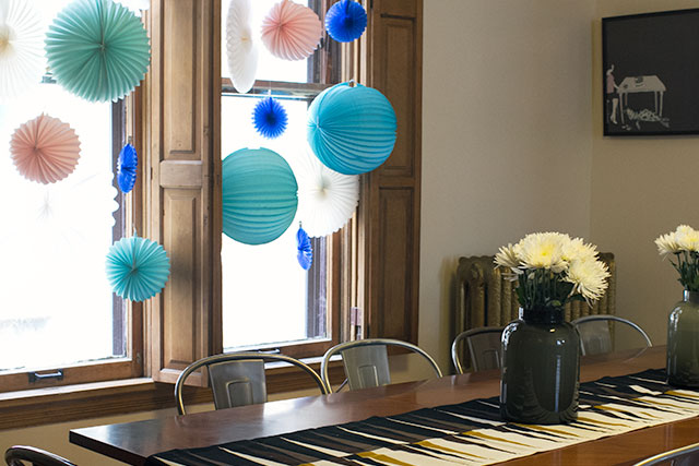 Birthday Party, Dining Room