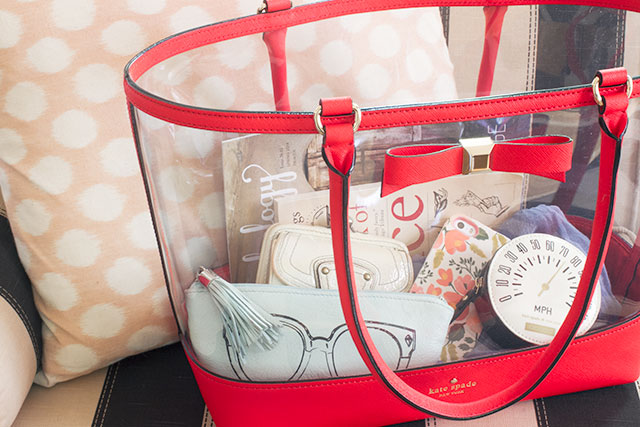 Kate Spade New York - Holly Street Clear Francis Tote