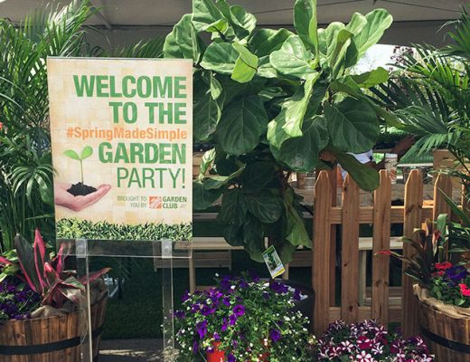 #SpringMadeSimple Home Depot Garden Party
