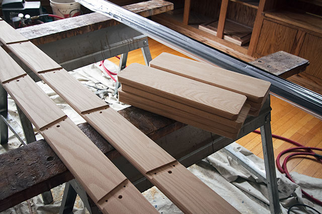 Unfinished Wooden Ladder