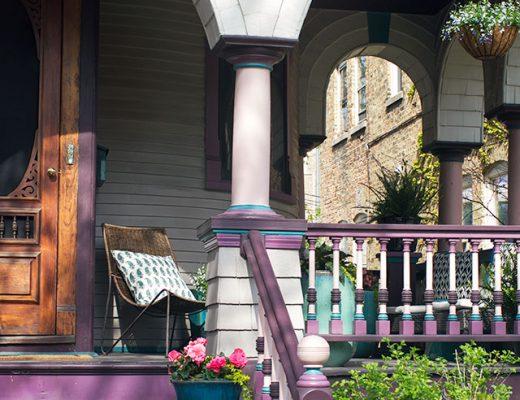 Victorian Queen Anne Front Porch