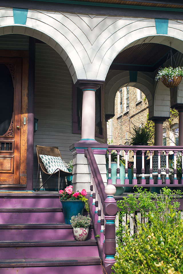 Victorian Queen Anne Front Porch