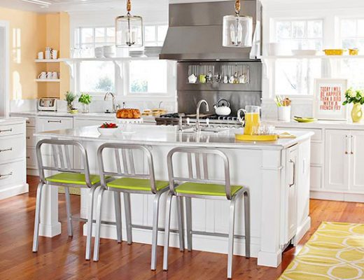 Get the Look: A Happy Transitional Kitchen