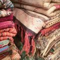 Rugs in the Marrakech Souk