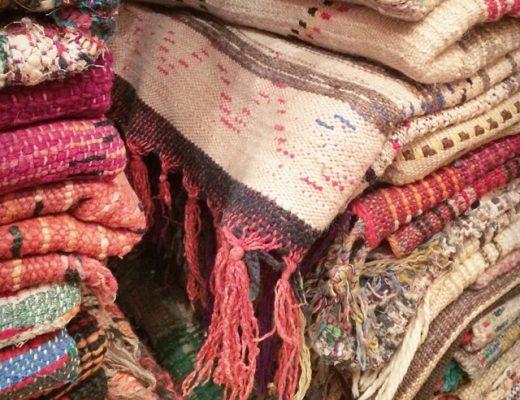 Rugs in the Marrakech Souk