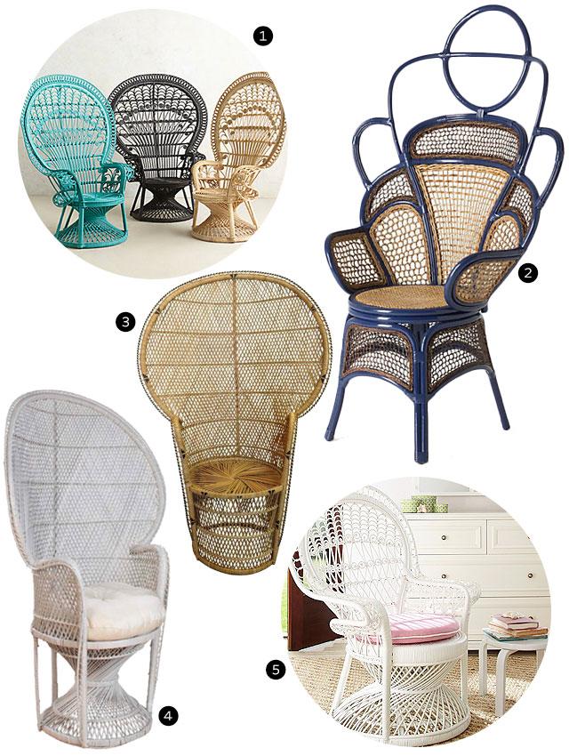 Peacock Chairs