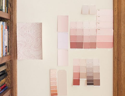 Pink Paint Swatches