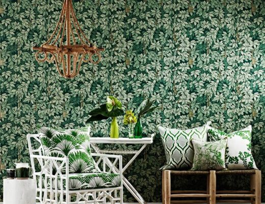 Fornasetti II Chiavi Segrete Wallpaper, Cole & Sons