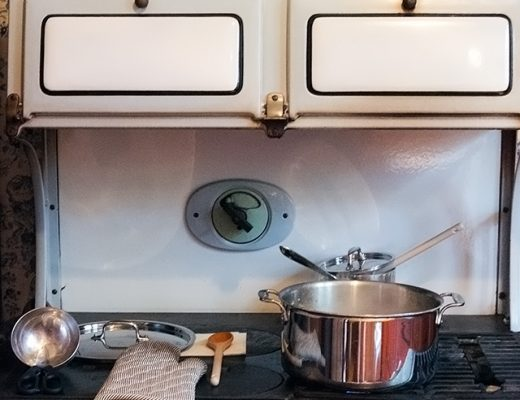 Cooking on an Antique Stove