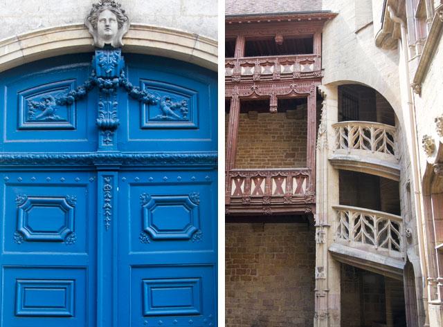Dijon, France - Architectural Details
