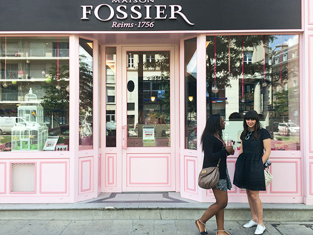 Fossier in Reims, France