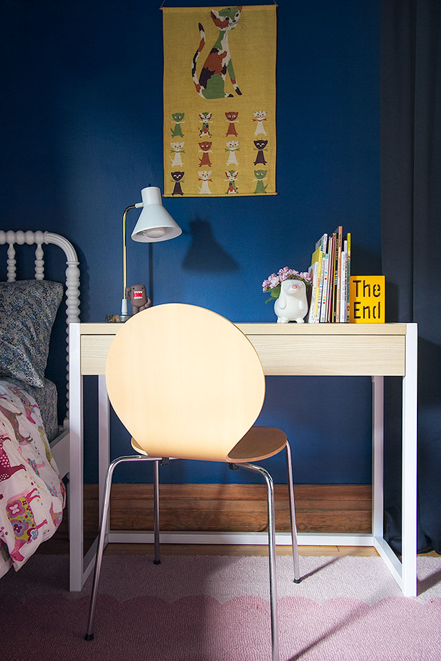 A Kid's Desk from Target, Making it Lovely