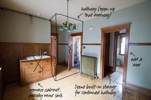 Second Floor Kitchen Demo Plans