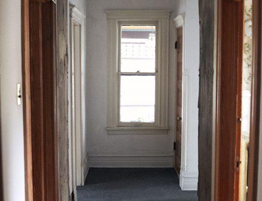 The Hallway, Newly Opened Up