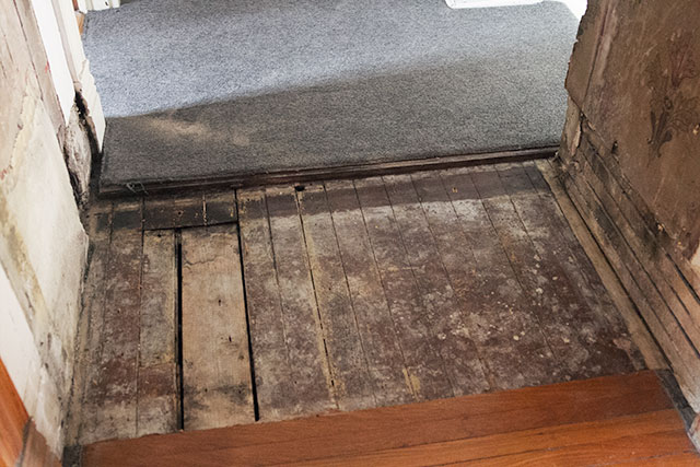 Exposed Subfloor